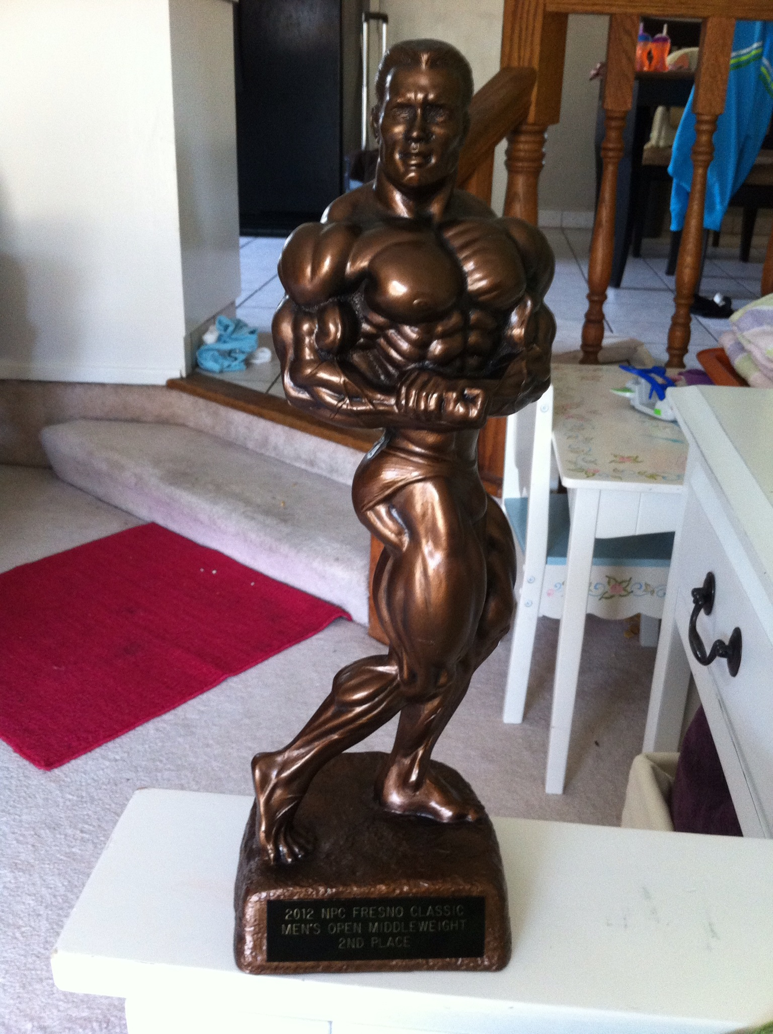 Displaying 19> Images For - Bodybuilding Competition Trophy