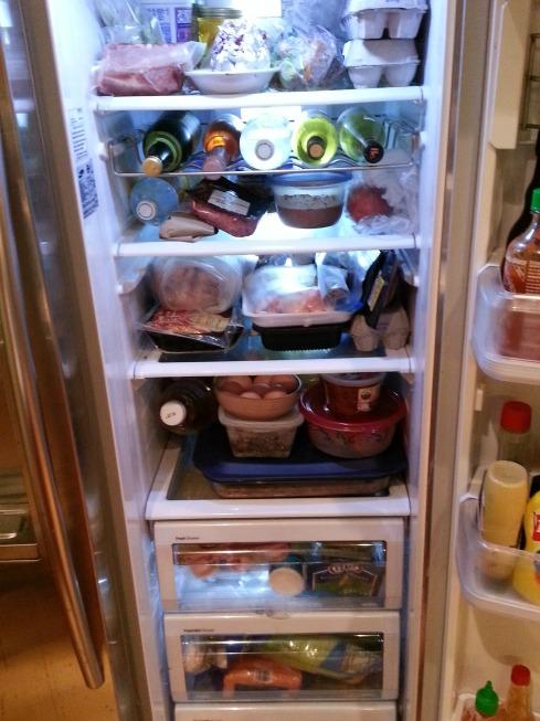 A full fridge is a happy fridge!